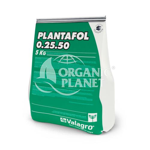 Плантафол NPK 0-25-50 удобрение, 5 кг — водорастворимое комплексное удобрение (завязь)