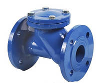 Клапан обратный канализационный (с нерж.шаром)чугунный фланцевый ф50