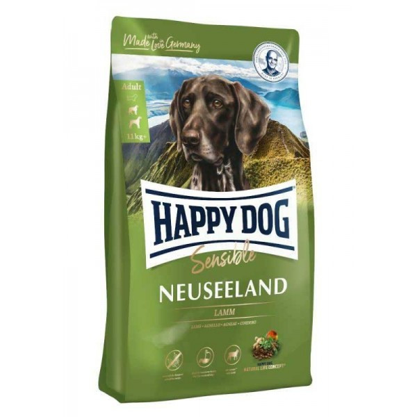 Supreme Sensible Neuseeland 12,5 кг Корм для взрослых собак весом 11 кг + Супер-премиум класс (3534 Happy Dog)