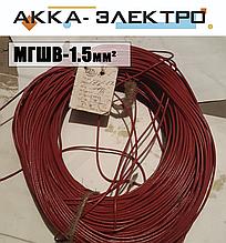 Провод МГШВ 1.5мм2 (красный)
