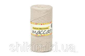 Эко Шнур Cotton Macrame, цвет Латте