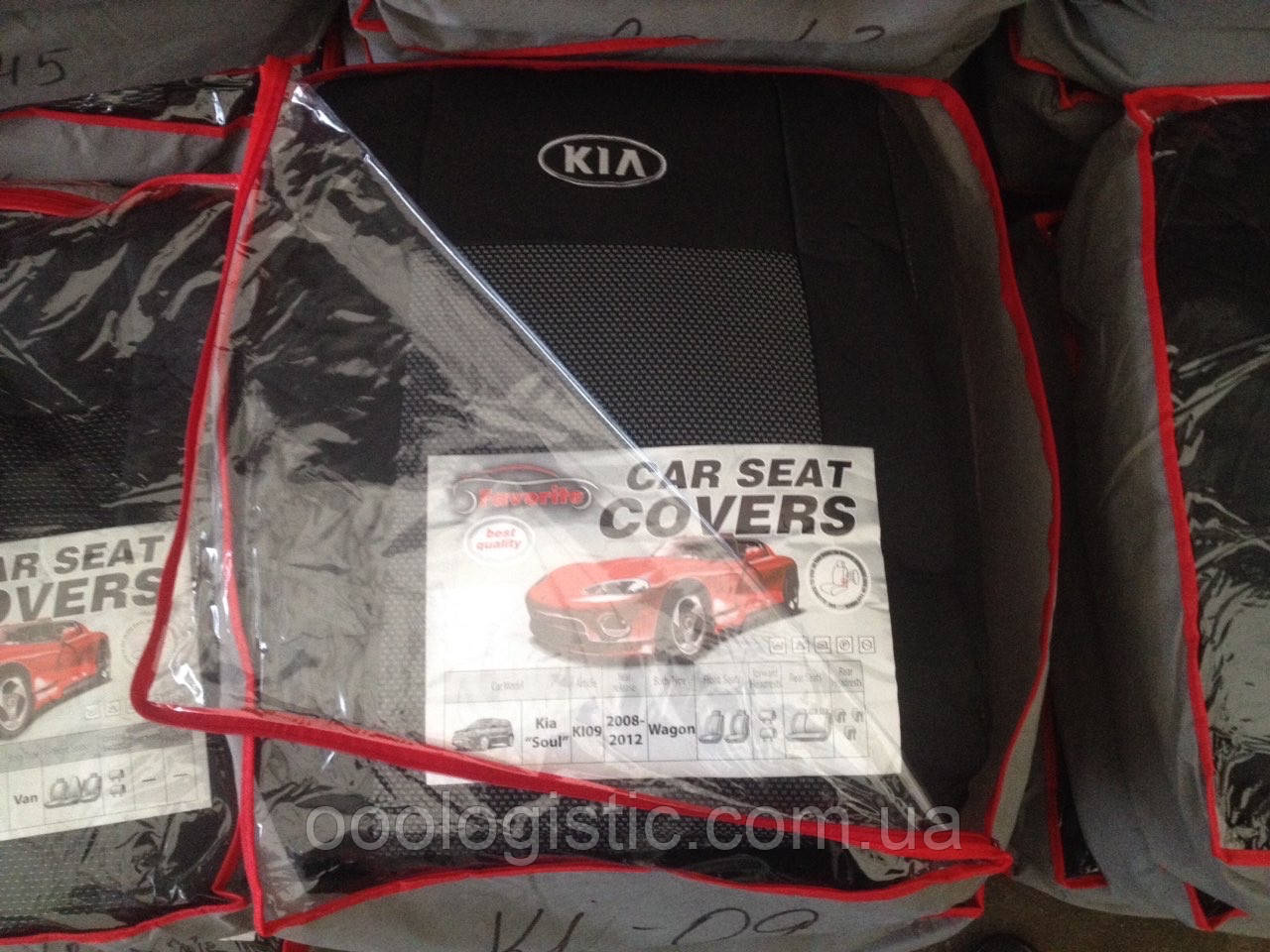 Авточохли на Kia Soul 2008-2012 wagon Favorite, Кіа Соул