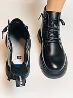 Жіночі черевики. Осінньо-весняні. Натуральна шкіра. Висока якість. Vistally. Р. 38-39. Vellena, фото 4