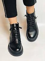Женские ботинки. Осенне-весенние. Натуральная кожа. Р.40., фото 3