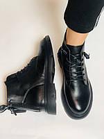 Женские ботинки. Осенне-весенние. Натуральная кожа. Р.40., фото 2