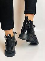 Жіночі черевики. Осінньо-весняні. Натуральна шкіра. Висока якість. Vistally. Р. 38-39. Vellena, фото 6