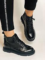 Жіночі черевики. Осінньо-весняні. Натуральна шкіра. Висока якість. Vistally. Р. 38-39. Vellena, фото 10