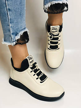 24pfm. Туфли- кроссовки женские. Натуральная кожа. На широкую ногу. Размеры 37, 38, 39