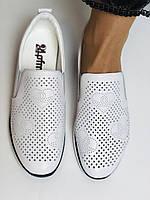 24pfm. Женские летние туфли -кроссовки белые на невысокой платформе. Натуральная кожа. Размер 23.0 23,5, фото 9