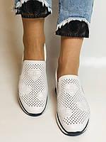 24pfm. Женские летние туфли -кроссовки белые на невысокой платформе. Натуральная кожа. Размер 23.0 23,5, фото 5