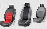 Авто чехлы модельные  Kia Rio III Sedan с 2011 г в экокоже EcoPrestige EcoLaser VipElite , фото 1