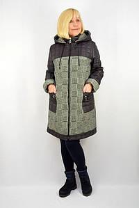 "Куртка ""Аурика"" баклажан - Модель Х22-2"