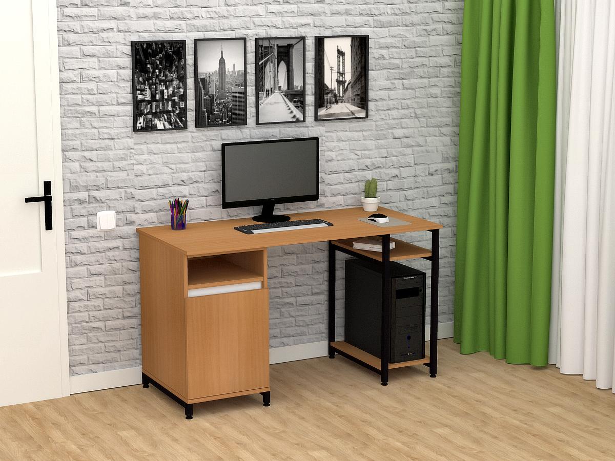 Комп'ютерний прямий стіл Флеш-Ніка Флеш 11