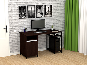Комп'ютерний прямий стіл Флеш-Ніка Флеш 11, фото 2