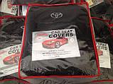 Авточехлы на Toyota Avensis 2009-2012 sedan, Favorite Тойота Авенсис, фото 6
