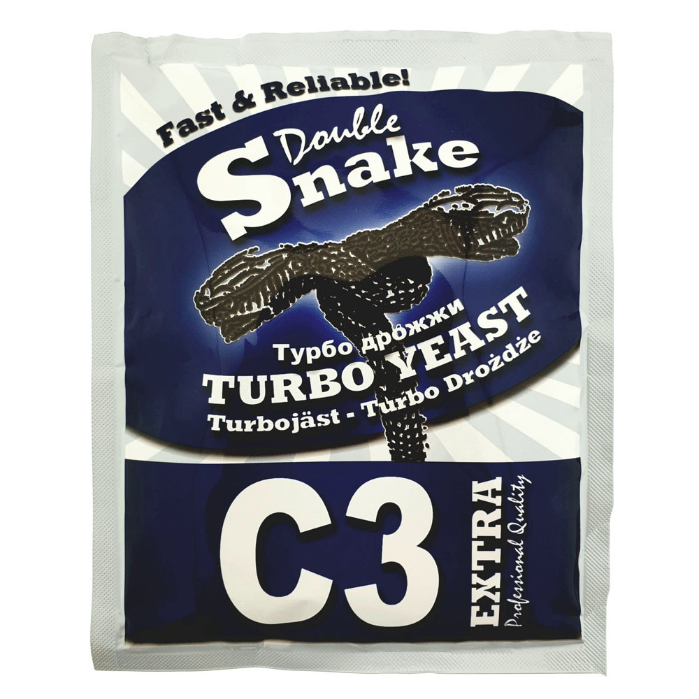 Сухие дрожжи Double Snake C3