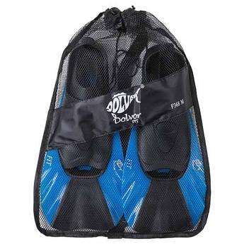 Ласти Dolvor FIT F368, р-р 2XS(34-35), синій. Знижка від 12 пар