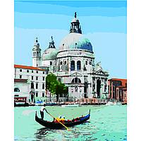 Картина по номерам Strateg Венецианский гондольер, 40х50 см