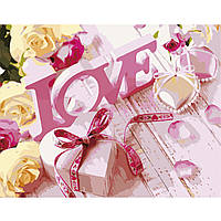 Картина по номерам Strateg Love, 40х50 см