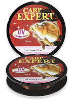Волосінь Energofish Carp Expert UV Brown 300 м 0.20 мм 5.4 кг (30119020)