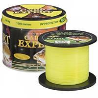 Волосінь Energofish Carp Expert UV Fluo Yellow 1000 м 0.45 мм 20.5 кг (30120845)