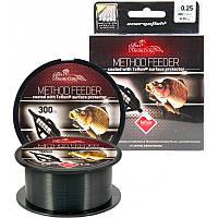 Леска Energofish Carp Expert Method Feeder Teflon Coated Black 300 м 0.30 мм 11.45 кг (30127030)