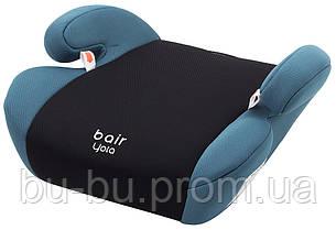 Автокресло Bair Yota бустер (22-36 кг) DY1929 черный - темно-бирюзовый
