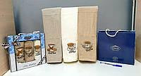 Кухонні рушники Вафельні (ТМ ZERON) бавовна 45*65 (3шт.) Туреччина