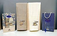 Кухонні рушники Вафельні (ТМ ZERON ) бавовна 40*60 (2шт.) Туреччина