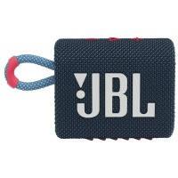 Портативная акустика JBL Go 3 Blue Pink (JBLGO3BLUP)