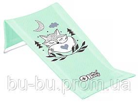 Горка для купания Tega Little Fox (Plus Baby) PB-LIS-026 (сетка) 105 light green