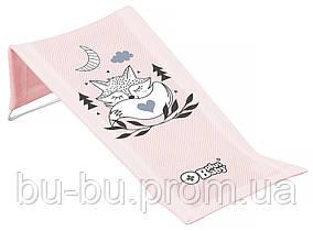 Горка для купания Tega Little Fox (Plus Baby) PB-LIS-026 (сетка) 130 light pink