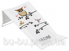 Горка для купания Tega Owl (Plus Baby) PB-SOWA-026 (сетка) 103 white