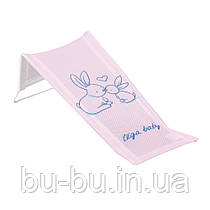 Горка для купания Tega Little Bunnies KR-026 (сетка) 104 light pink