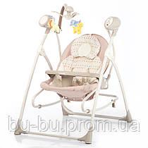 Колиска-гойдалка CARRELLO Nanny 3в1 CRL-0005 Beige Dot /1/ MOQ