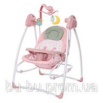 Колиска-гойдалка CARRELLO Grazia CRL-7502 Bow Pink /1/ MOQ