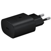 Сетевая зарядка SAMSUNG 25W Travel Adapter Black/EP-TA800NBEGRU
