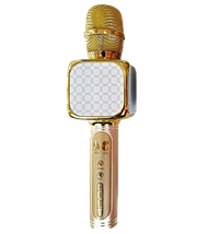 Мікрофон караоке YS-69 2 в 1 - бездротової Bluetooth мікрофон - портативна колонка зі слотом USB + TF card, фото 2