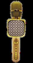 Мікрофон караоке YS-69 2 в 1 - бездротової Bluetooth мікрофон - портативна колонка зі слотом USB + TF card, фото 3