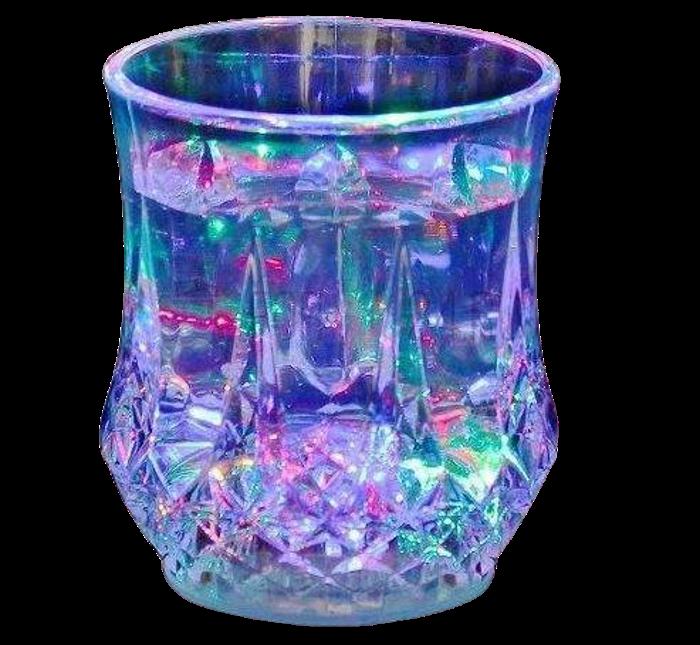 Стакан с подсветкой FLASH COLOR CUP - LED стакан светящийся
