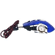 Игровая мышь Zornwee Z32 Синяя - проводная мышка с RGB подсветкой, фото 2