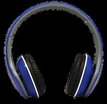 Наушники с микрофоном Ditmo DM-2550 Синие - проводные наушники для компьютера, ноутбука, фото 2