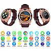 Умные часы Smart Watch V8 сенсорные - смарт часы Золотые, фото 5