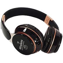 Бездротові навушники JBL T7 - складено Bluetooth-навушники з акумулятором, MP3 плеєром і FM радіо (Репліка), фото 2