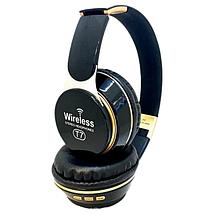 Бездротові навушники JBL T7 - складено Bluetooth-навушники з акумулятором, MP3 плеєром і FM радіо (Репліка), фото 3