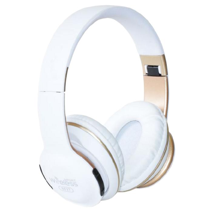 Бездротові навушники JBL ST-17 - складено Bluetooth-навушники з акумулятором, MP3 плеєром і FM радіо Репліка