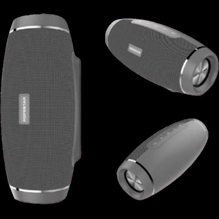 Портативная Bluetooth колонка Hopestar H27 Серая - мощная акустическая стерео блютуз колонка