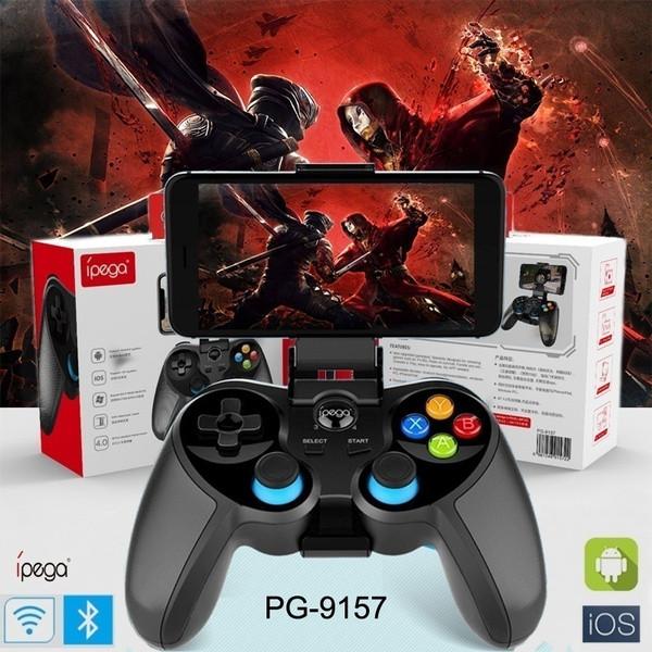 Джойстик беспроводной IPEGA PG-9157 Black - игровой джойстик (геймпад) для телефона IOS, Android