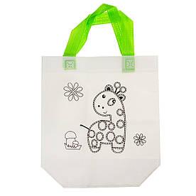Детская сумка раскраска, жираф