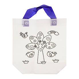 Детская сумка раскраска, дерево